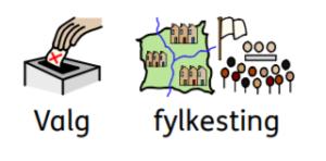 Valg av fylkesting-piktogram